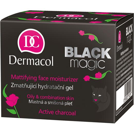 Dermacolshop.nl – Dermacol-black-magic-mattifying-face-moisturizer-gel-50ml-doosje-8595003110297