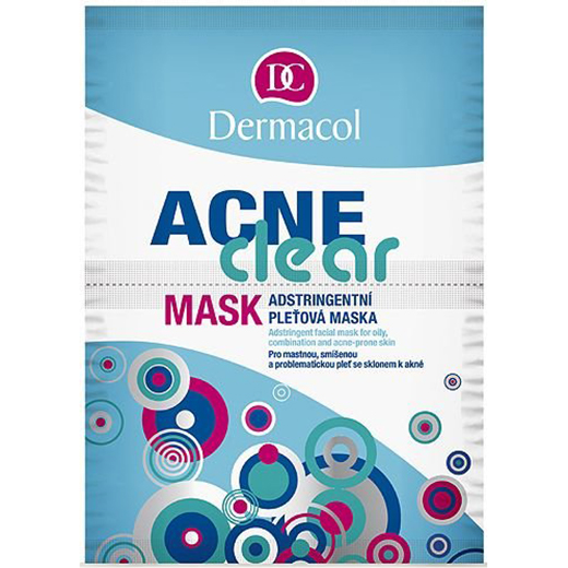 Dermacol Acne Clear Mask – 16g – 8595003935203