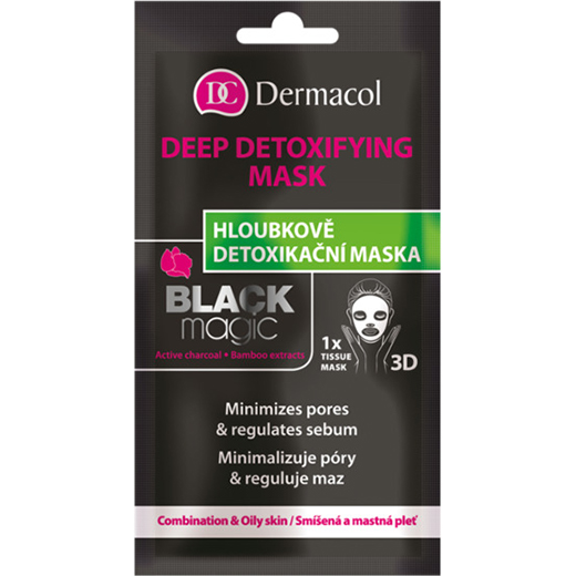 Dermacolshop.nl – Dermacol Black Magic Deep Detoxifying Mask – 1 stuks – 8595003114714